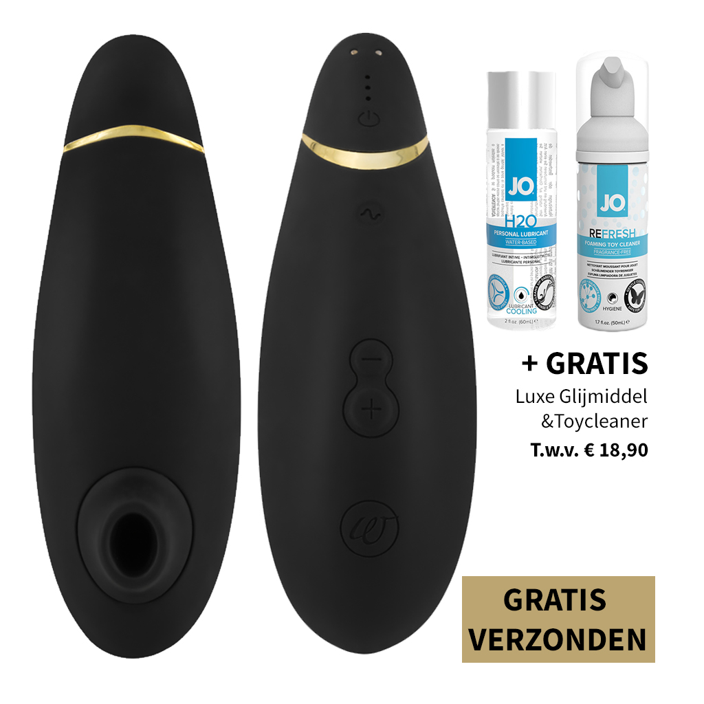 Womanizer Premium – Zwart