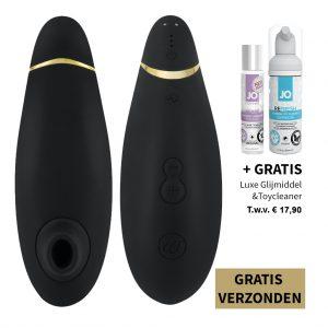 womanizer premium zwart gratis verzenden agape glijmiddel cleaner