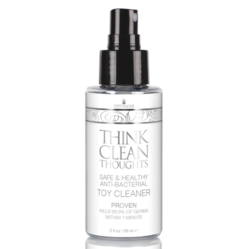 SENSUVA – Think Clean Thoughts Toy Cleaner